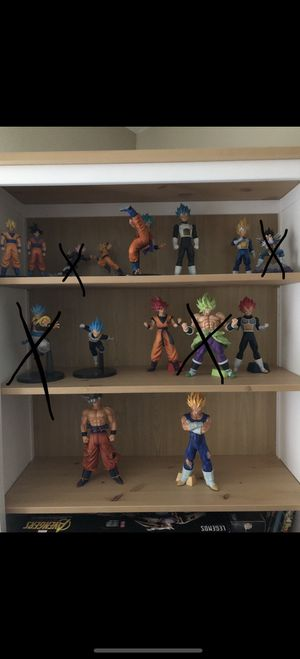 Dragonball Z Figures for Sale in Charlotte, NC