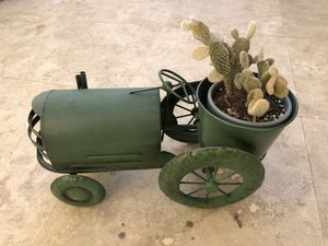 Yard decor - Tractor with live cactus for Sale in Laguna Hills, CA