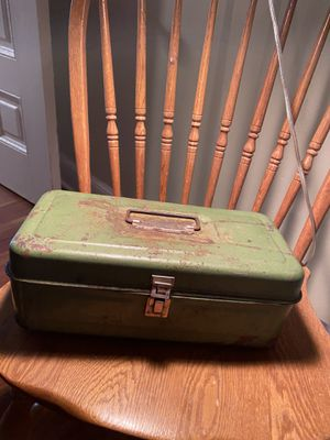 Antique tackle box for Sale in Torrington, CT