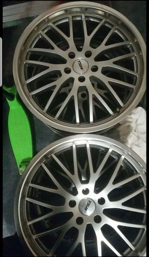 5x114.3 TSW wheels (NO TIRES) for Sale in Phoenix, AZ