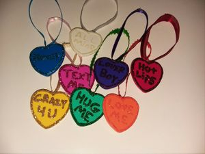 Candy Heart Ornaments for Sale in Lewes, DE