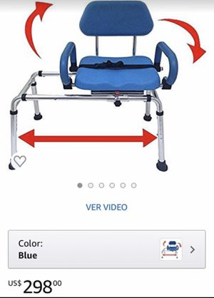 Transfer Bench/Shower Chair w/Swivel Seat-Platinum Health for Sale in Ontario, CA