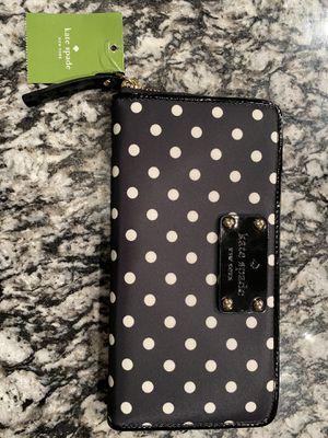 Kate Spade NEW - Nylon Polka Dot Wallet for Sale in Arlington, TX