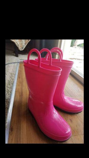 Rain boots size 10 kids for Sale in San Antonio, TX
