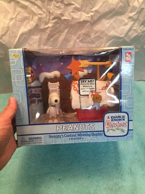 Peanuts Snoopy's contest winning display place at Christmas for Sale in Parkland, FL