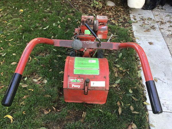 Briggs & Stattion 5 HP Rototiller good condition Electric ignition price is firm
