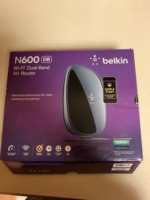 Belkin N600 WiFi router for Sale in Jacksonville, FL