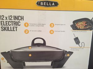 12x12 inch electric skillet Brand New for Sale in San Diego, CA