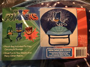 NEW PJ Masks - Kids Chair - Ages 3-8 for Sale in Pomona, CA
