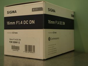 Sigma 16mm f1.4 DC DN contemporary lens for Sale in Los Angeles, CA