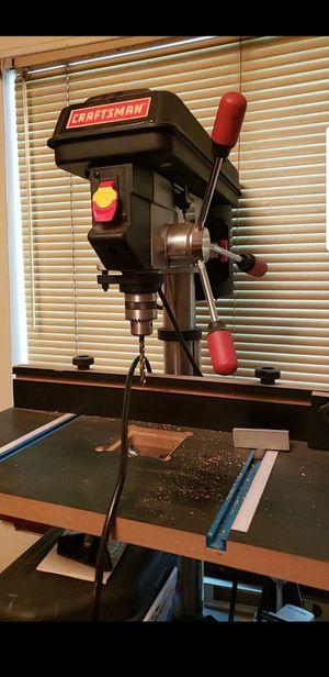 Craftsman 12 in drill press for Sale in Edmonds, WA