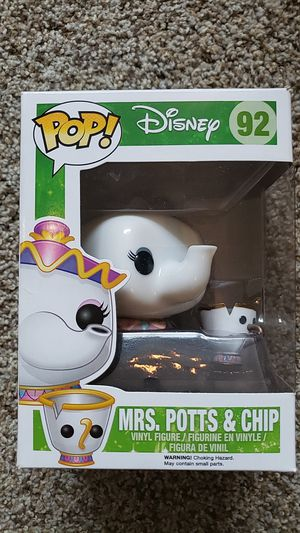 Mrs. Potts and chip Vaulted funko pop for Sale in Newberg, OR