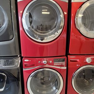 Whirlpool Front Load Washer And Electric Dryer Set Used In Good Condition With 90day's Warranty for Sale in Brentwood, MD