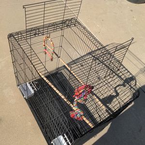 Large Birdcage 30x18x29 for Sale in Perris, CA