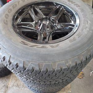 Jeep Wrangler Custom Wheels 5 for Sale in Hayward, CA