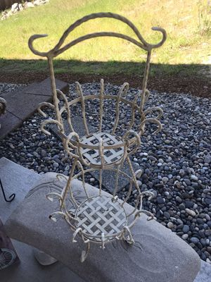 Two Tier Basket Great for outdoor or indoor for Sale in Camas, WA