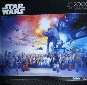 Buffalo games, Disney,Star Wars puzzle 2000 piece, new in box for Sale in Spring Valley, CA