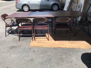 Table with 8 chairs for Sale in Anaheim, CA
