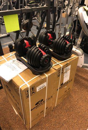 New Bowflex adjustable dumbbells 552's for Sale in Renton, WA