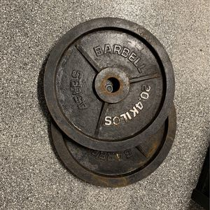 2 - 45 Lb Pounds Weight Plates - $1 Per Lb for Sale in Pompano Beach, FL