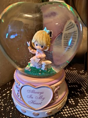Precious moments globe with music for Sale in Montclair, CA