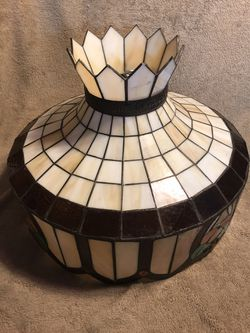 Vintage Stained Glass Hanging Lamp Shade for Sale in Pittsburgh,  PA