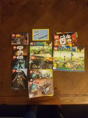 Lego instruction books FREE for Sale in San Luis Obispo, CA