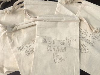 Bridal Party survival kit Bags for Sale in Mission Viejo,  CA