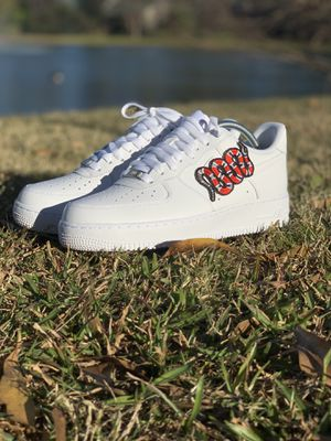 763fd40d5d0 Gucci Snake Air Force 1 for Sale in Canton