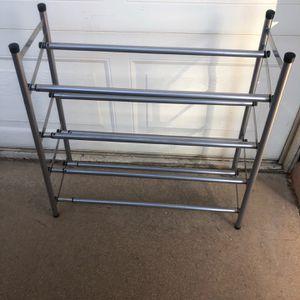 Metal Expanding Shoe Rack for Sale in Phoenix, AZ