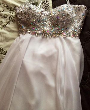 Prom Dress Size 4 white for Sale in Gahanna, OH