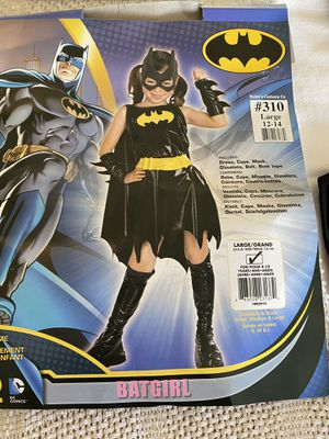Batgirl Halloween Costume - Size 12-14 (L) for Sale in Pembroke Pines, FL