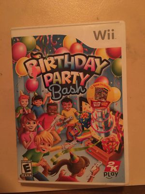 Nintendo Wii birthday bash for Sale in Visalia, CA