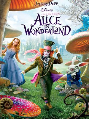 Alice In Wonderland Live Action HD Digital Movie Code for Sale in Fort Worth, TX