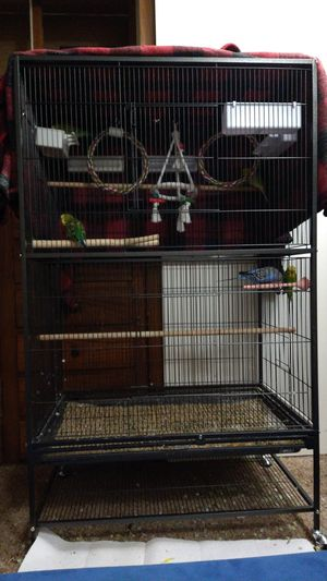 Large bird cage for Sale in Portland, OR