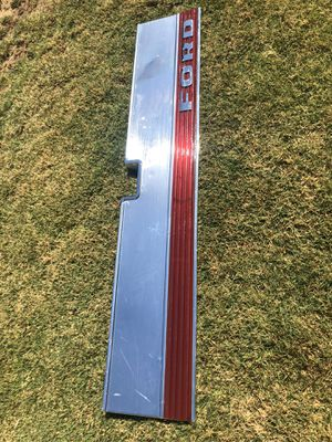🌔FORD F 150 Pickup Truck 87-96 Tailgate Trim Panel Aluminum & Red NICE! 250 350 for Sale in Fresno, CA