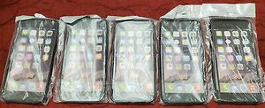 5 new hard rubber black apple iphone 6 case skins cover for Sale in Elmwood Park, IL