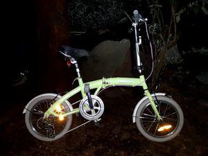 "*CITIZEN* ""Tokyo"" LIME GREEN 16"" RevoShift 6-Gear Fold-Up Bike for Sale in Seattle, WA"