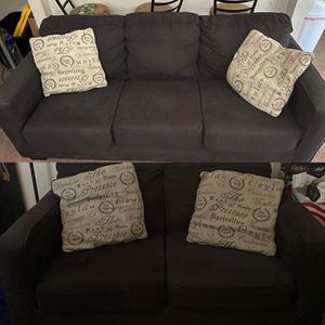 Sofa & Loveseat FREE - you pick up for Sale in Modesto, CA