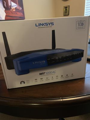 Linksys WRT 1200 AC wireless WiFi router for Sale in Missouri City, TX