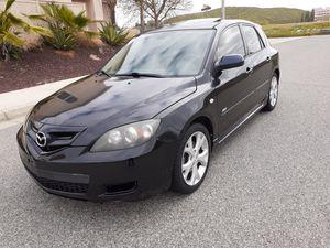 2008 Mazda 3 hatchback 5speed salvage title 158k miles for Sale in Menifee, CA
