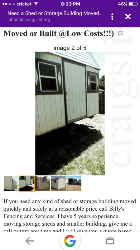 Affordable storage shed moving and more for Sale in Tomball, TX - OfferUp