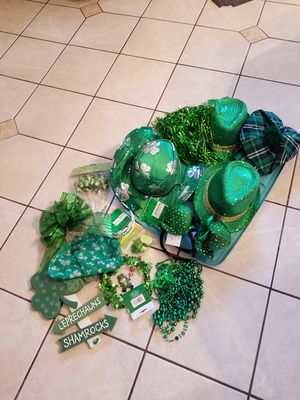 St Patrick Day Party goods for Sale in Virginia Beach, VA
