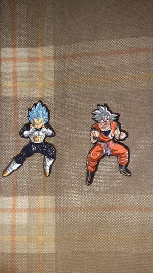 Dragonball Z pins. Goku & Vegeta for Sale in Ontario, CA