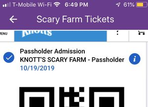 Scary Farm tickets for Sale in Santa Ana, CA