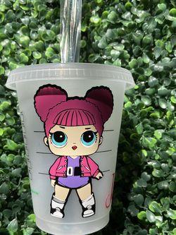 Lol doll mini Starbucks Cup! 16 OZ for Sale in Avondale,  AZ
