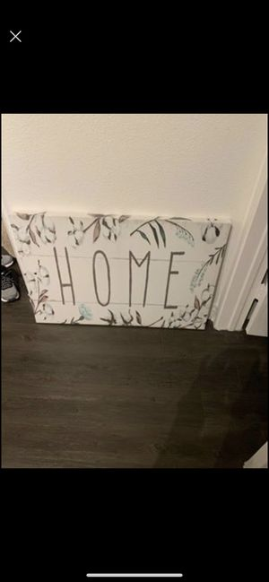Home wall decor sign for Sale in Coppell, TX