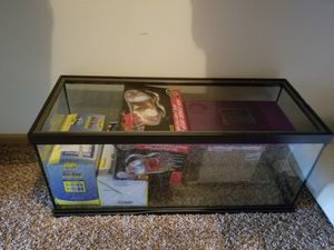 Turtle Tank - w/extras for Sale in Palatine, IL