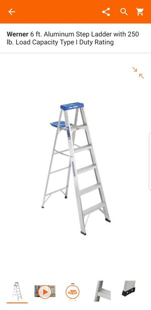 6ft ladder for Sale in Lake Wales, FL