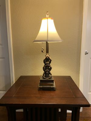 Monkey Lamp with Lamp Shade for Sale in Orlando, FL